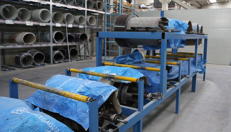 MANGIONE TRADE deposito coils lattone